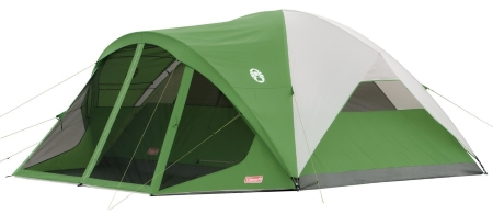 Coleman Evanston Screened Tent 6 Perosn